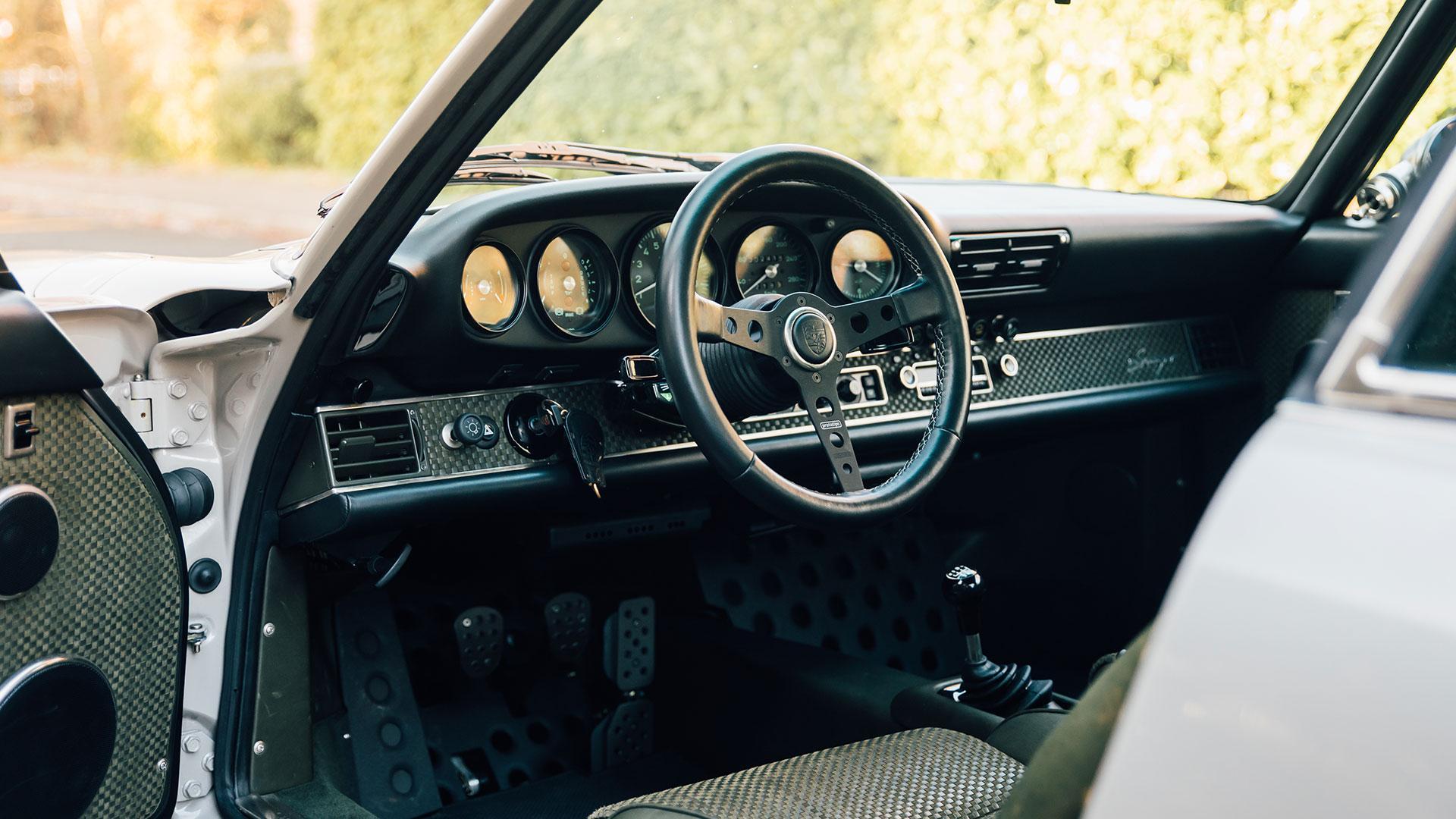 Nederlandse Singer Porsche 911 Amsterdam interieur
