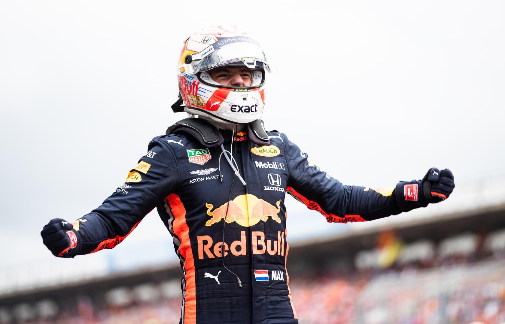 Max Verstappen in Duitsland 2019