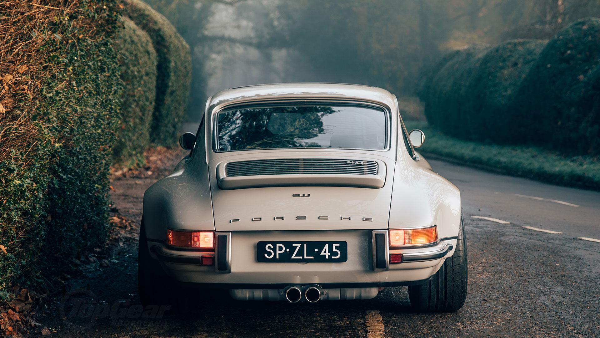 Nederlandse Singer Porsche 911 achterkant