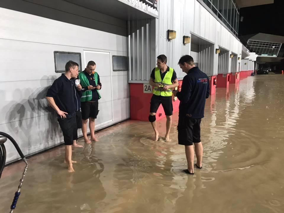 Overstroming Dubai 24 uur van