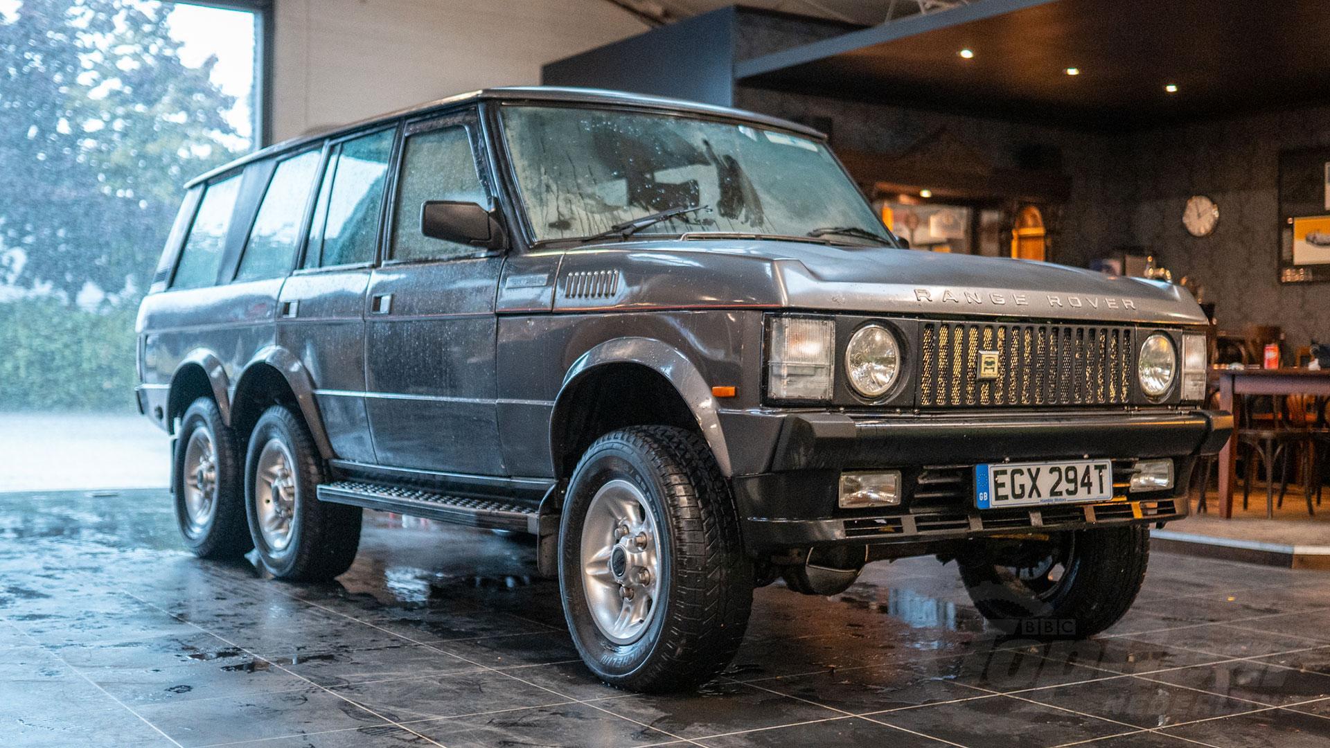 Land Rover Range Rover 6x6 Commando