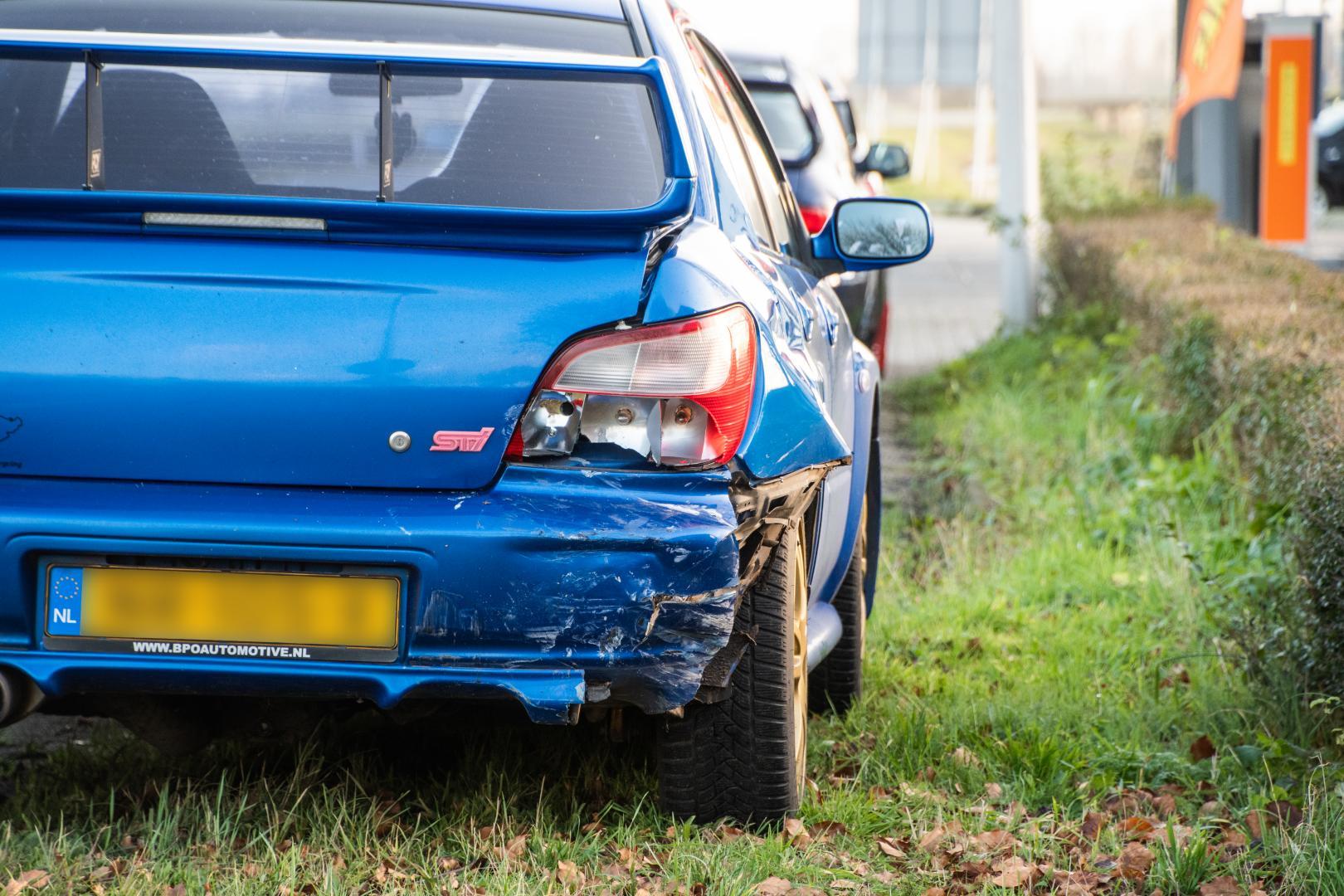 Subaru Impreza WRX STI blauw
