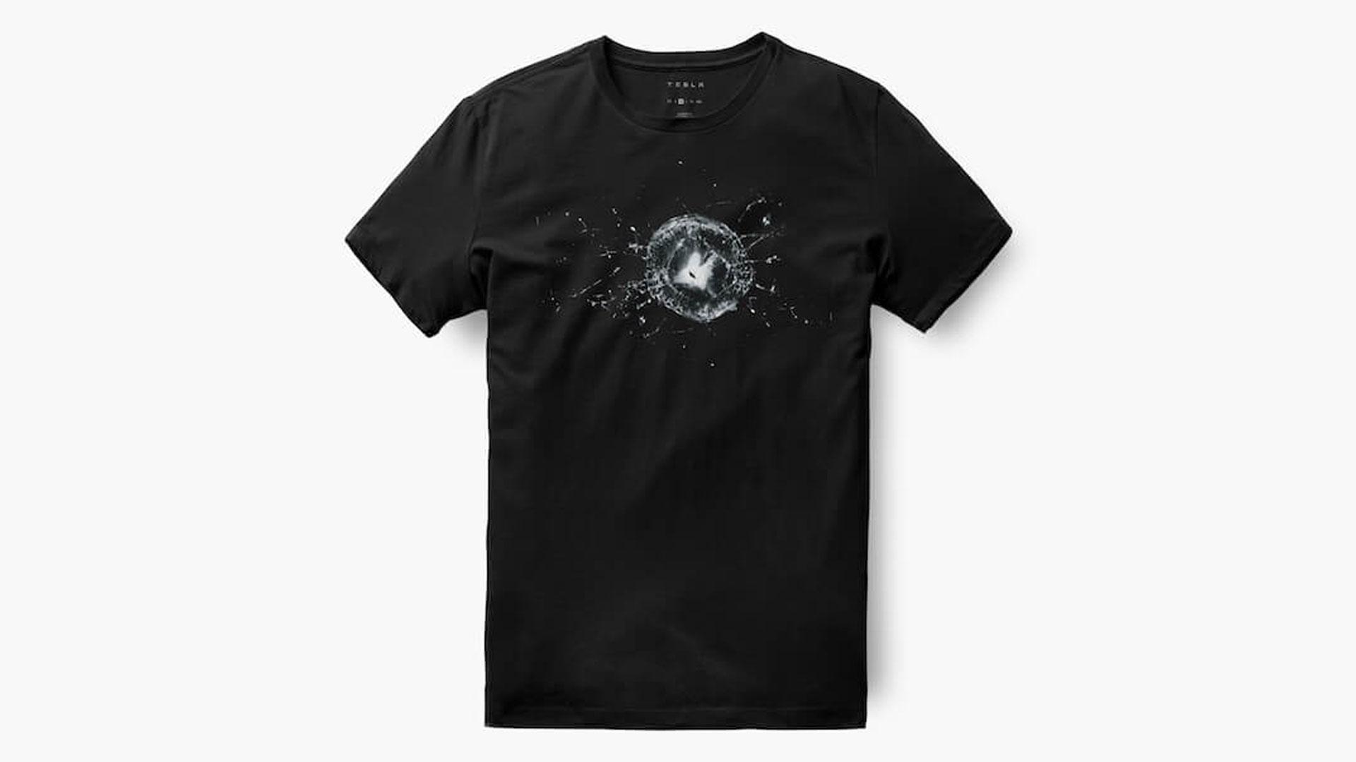 Tesla T-shirt Cybertruck
