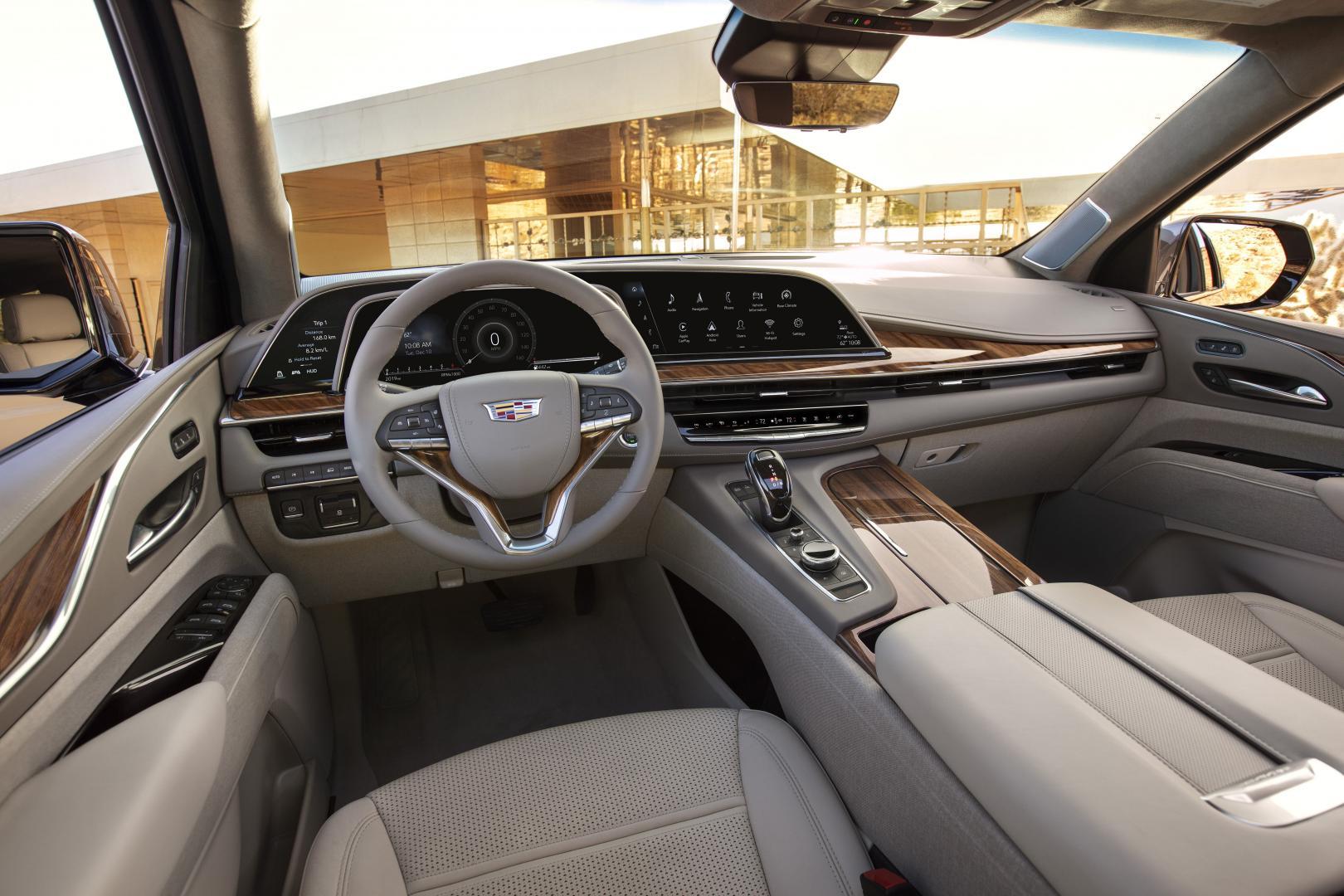 Cadillac Escalade 2021 dashboard interieur