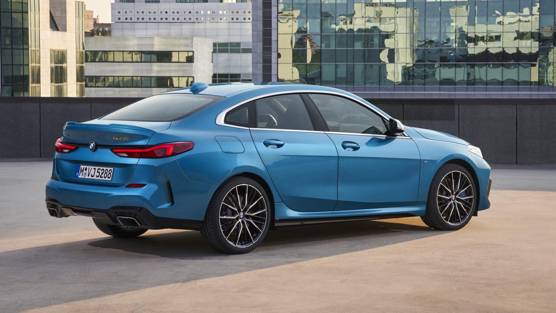 BMW 2-serie Gran Coupé M235i 1e test 2020