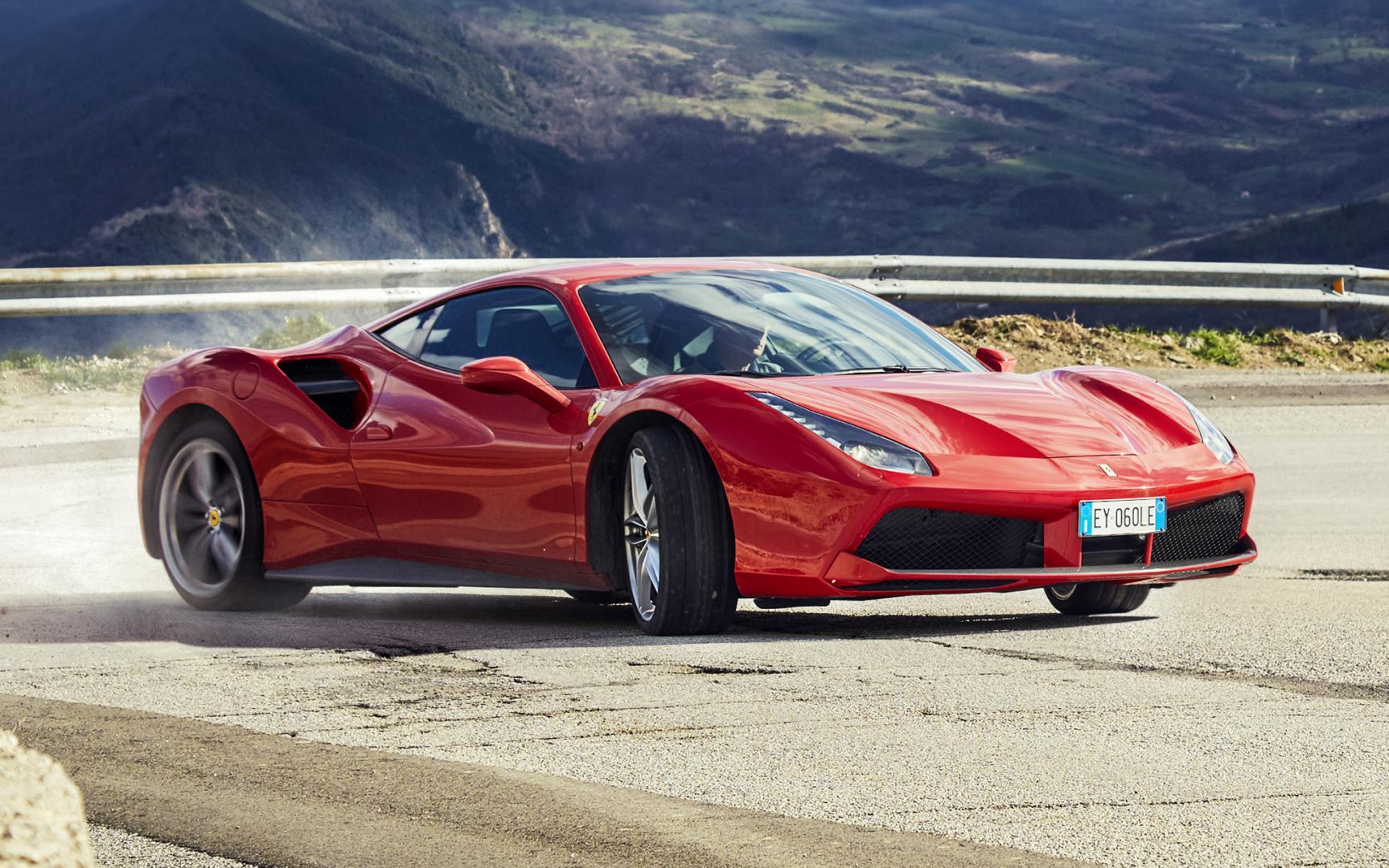 Valentijnsdag campagne Ferrari 488