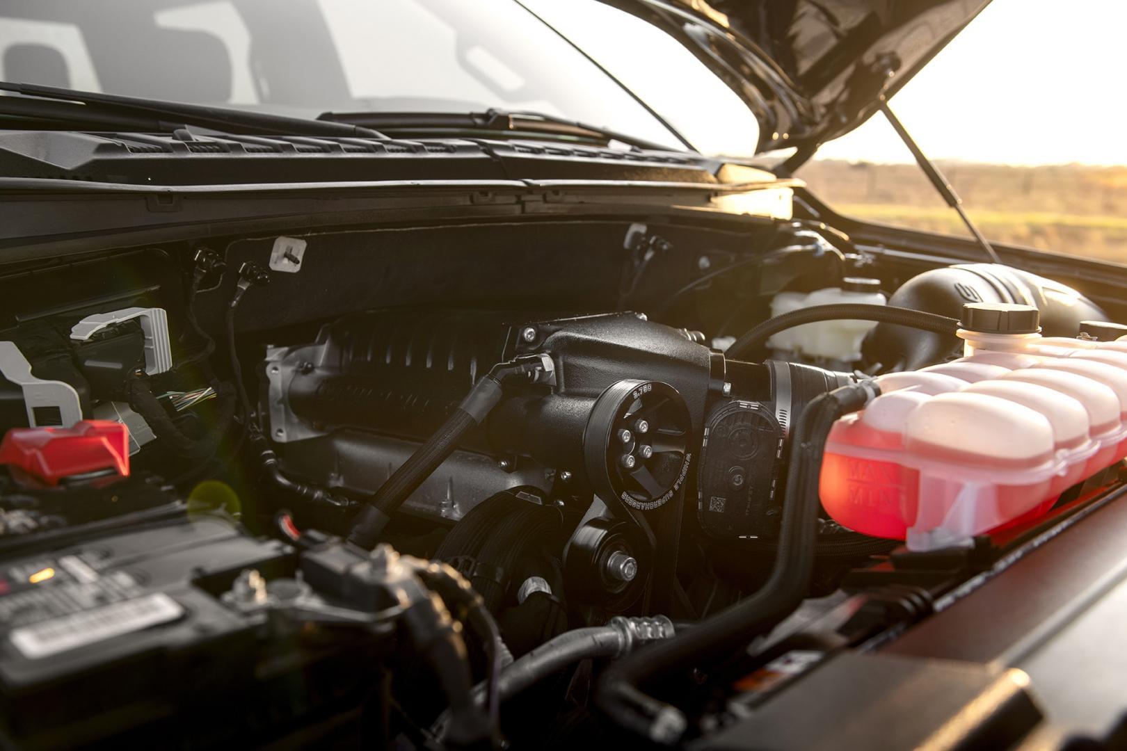 Supercharger V8 Hennessey F-150