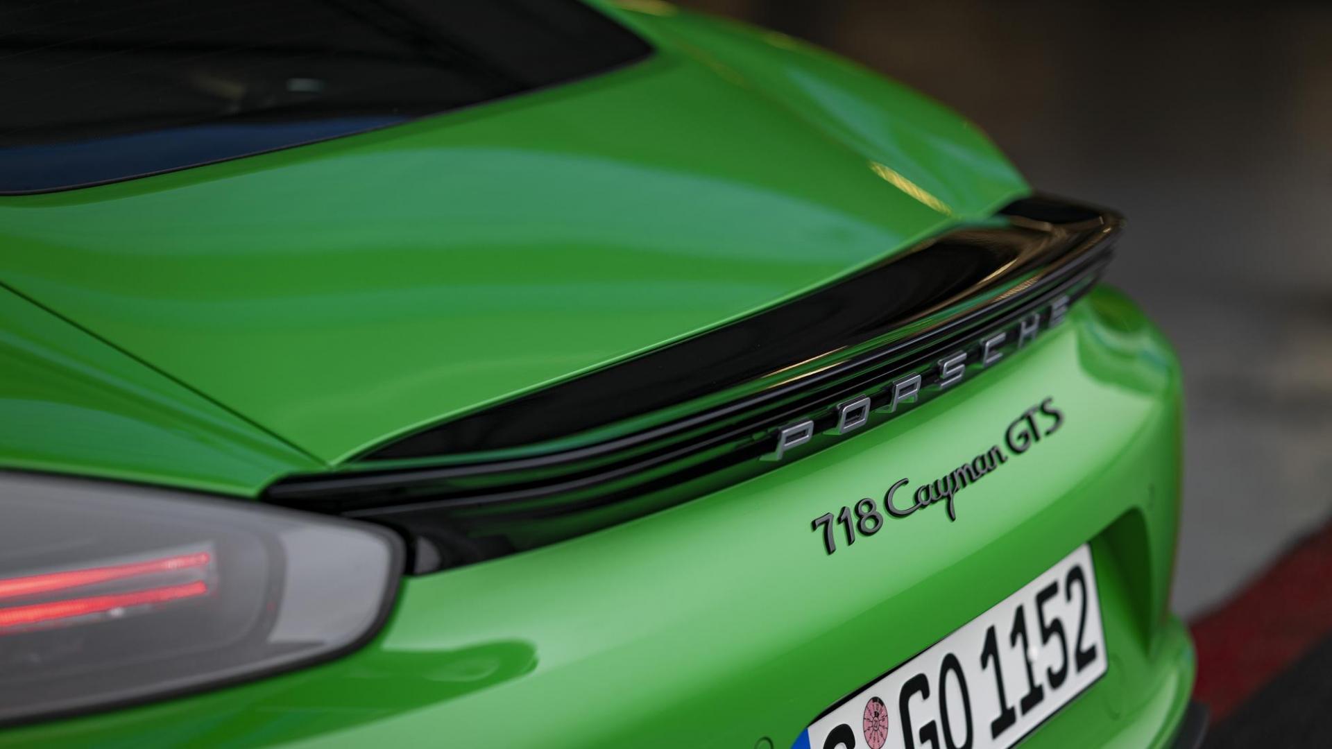 Porsche 718 Cayman GTS 4.0 zescilinder spoiler achterspoiler
