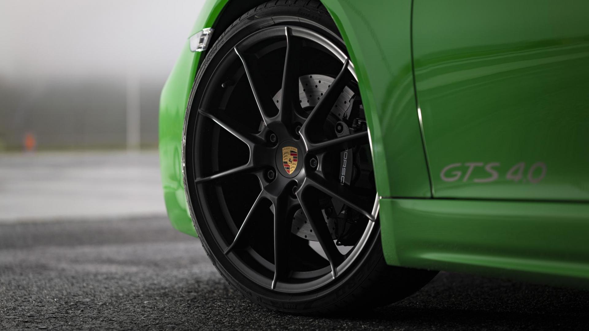 Porsche 718 Cayman GTS 4.0 zescilinder velg wiel
