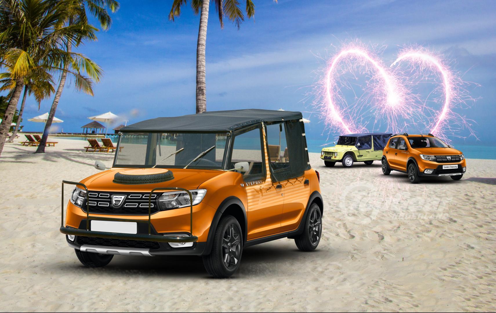 TGNL Autoliefdesbaby Dacia Sandero x Citroen Mehari