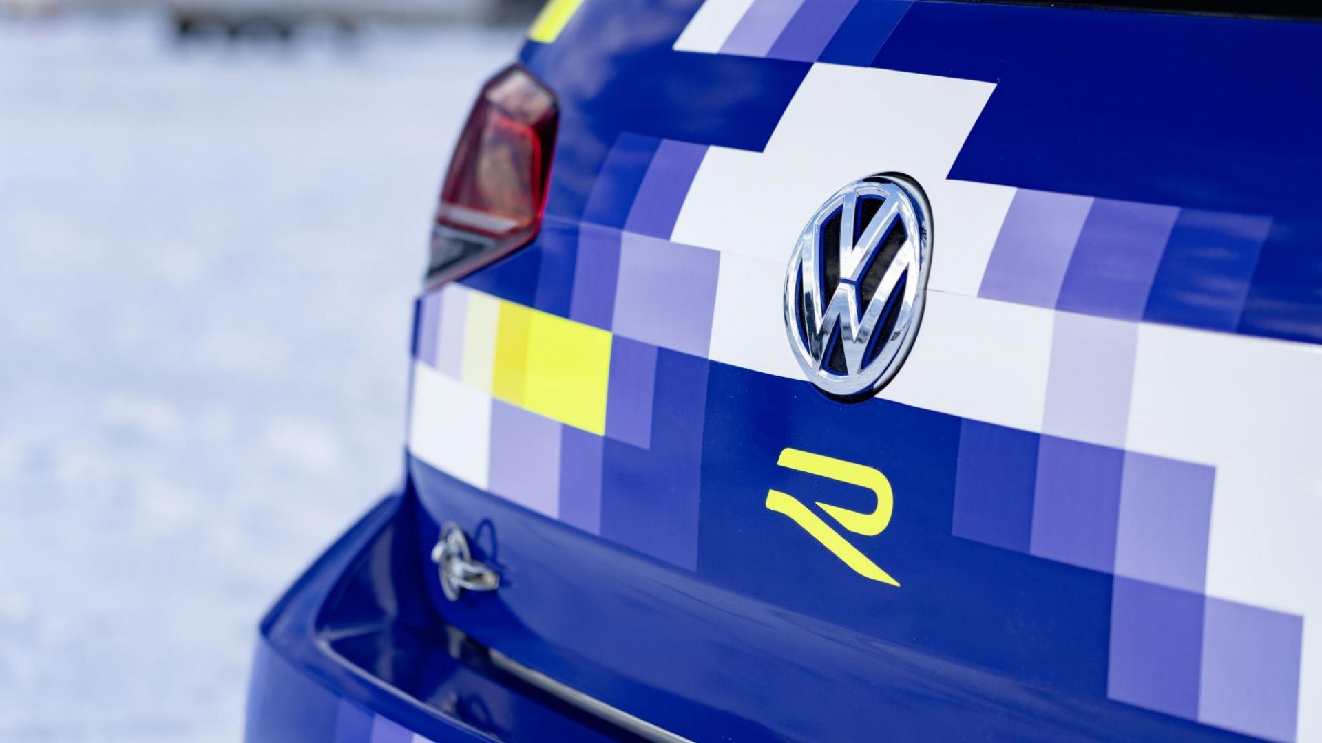 VW Golf met ID R-motoren eR1