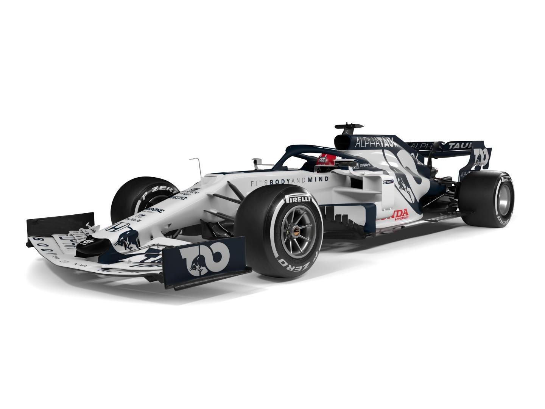 Alpha Tauri F1 auto 2020 3 4 voor