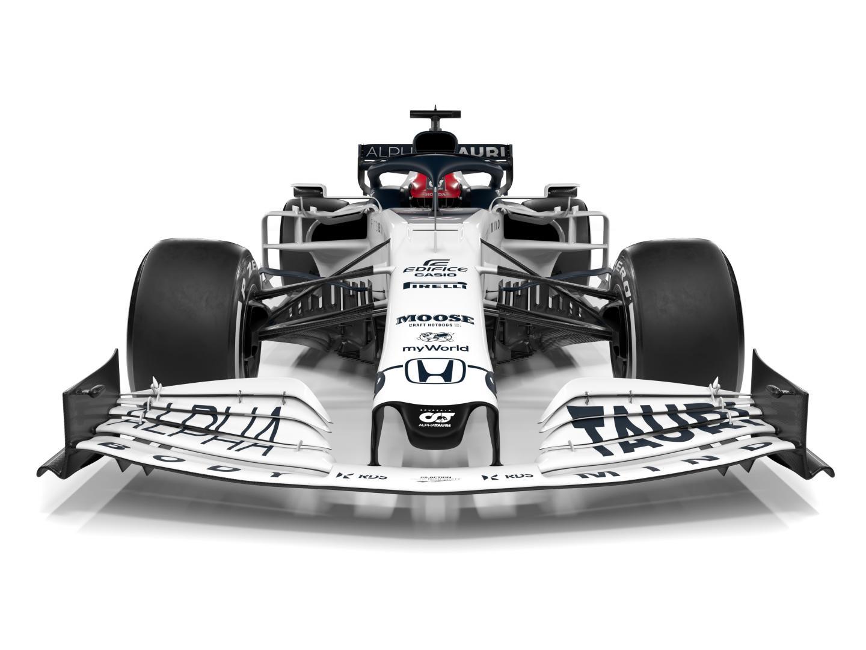 Alpha Tauri F1 auto 2020 voor