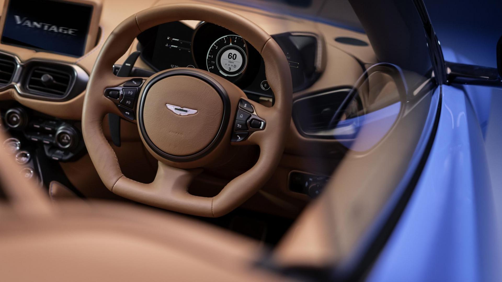 Aston Martin Vantage Roadster stuur