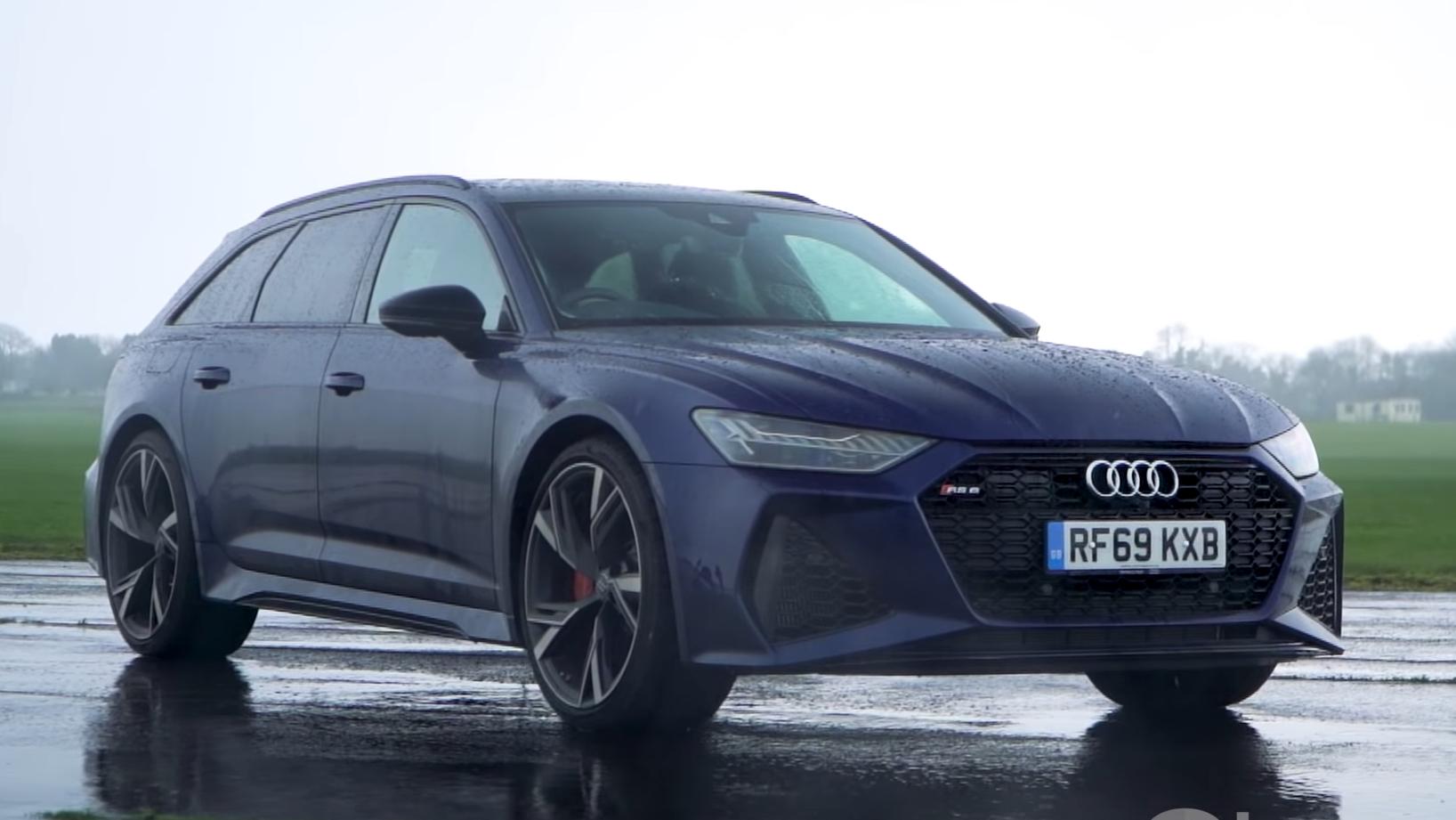 Audi RS6 Avant C8 3 4 voor