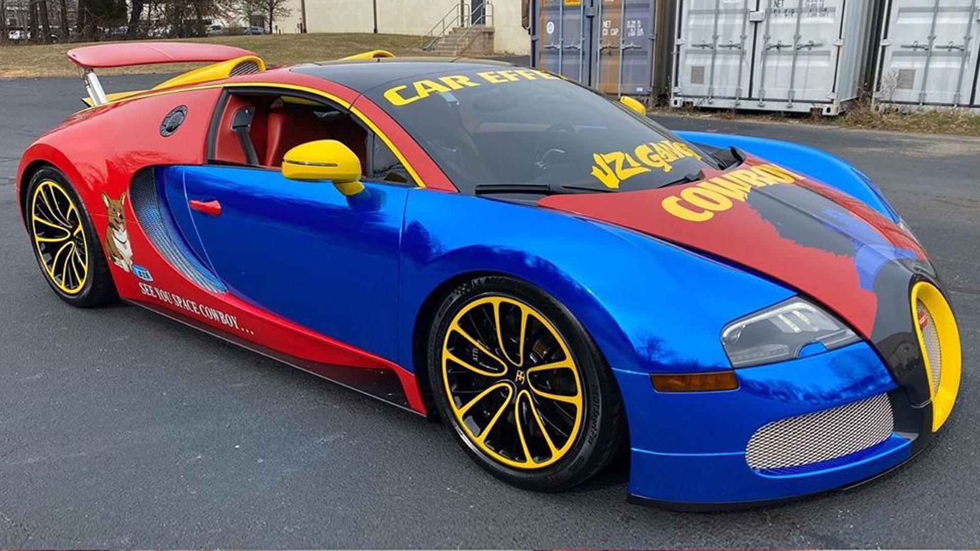 Bugatti Veyron van rapper Lil Uzi Vert