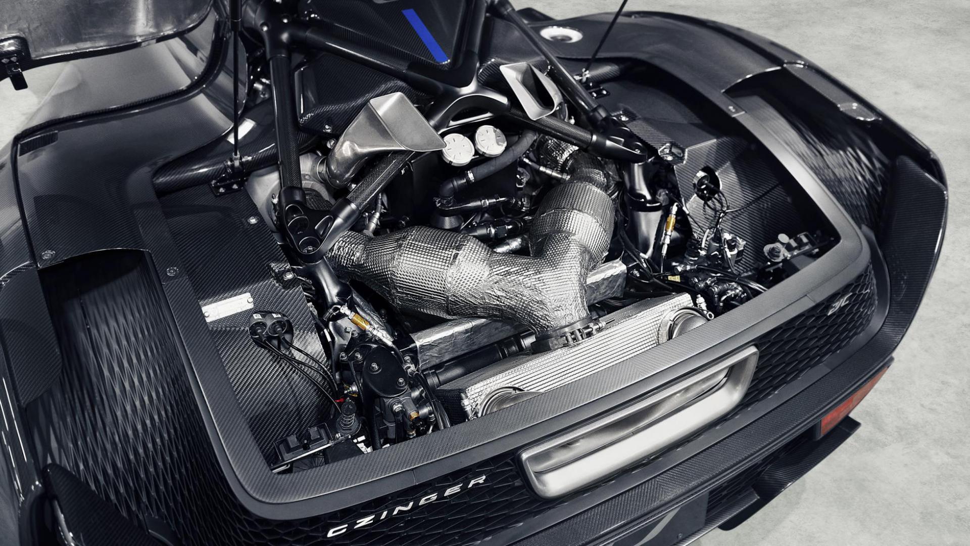 Czinger 21C 2020 2,9-liter V8 motor