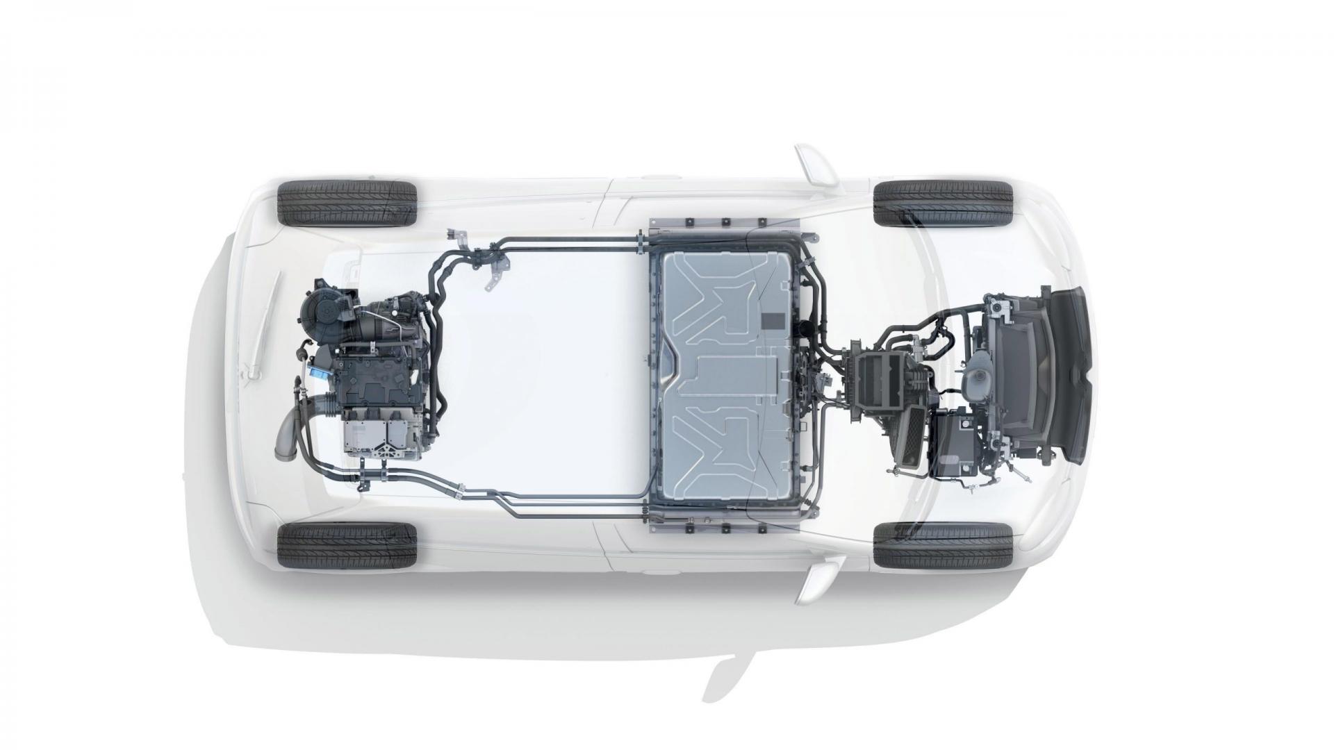 elektrische Renault Twingo ZE technische foto