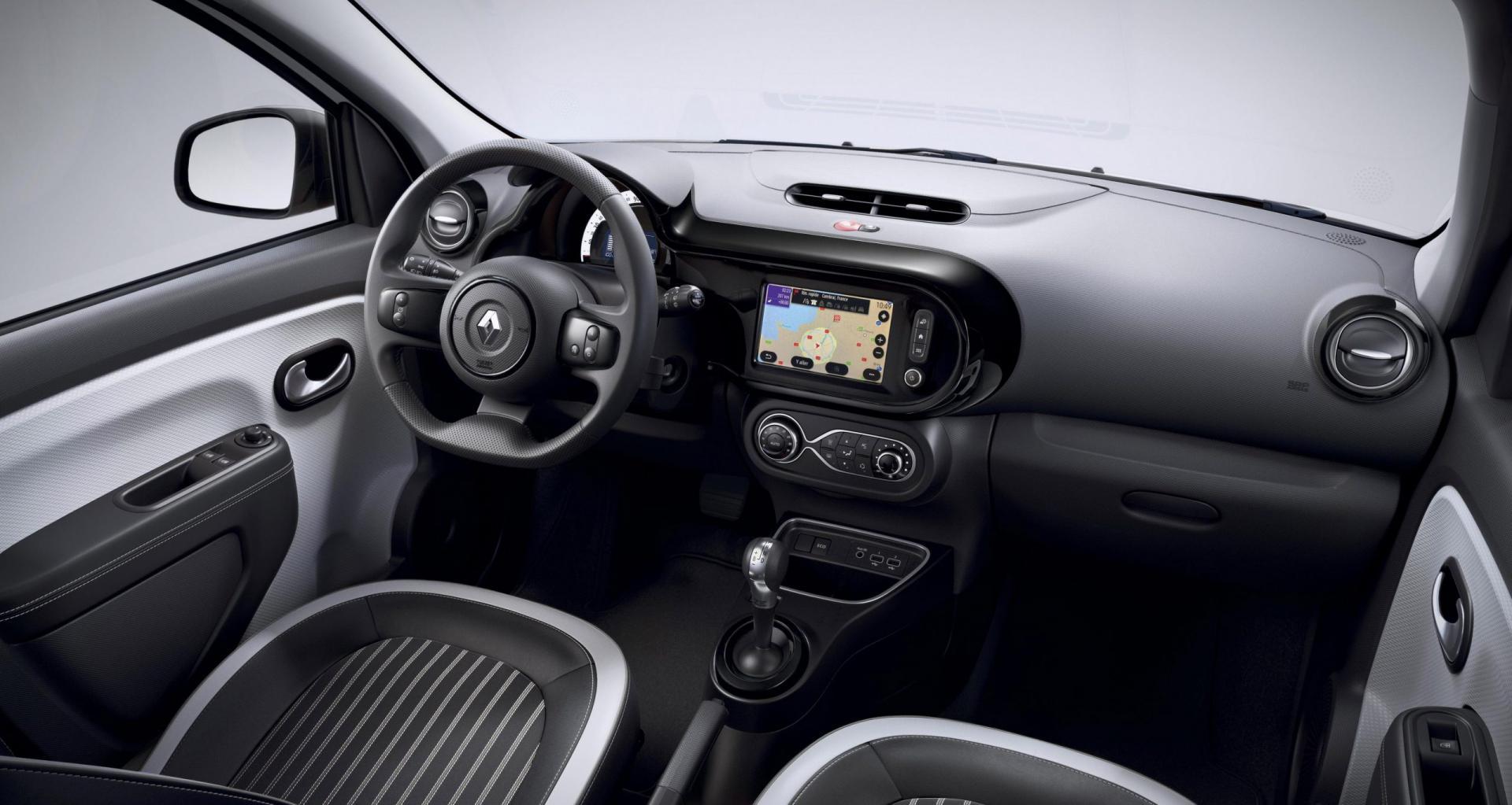 elektrische Renault Twingo ZE interieur