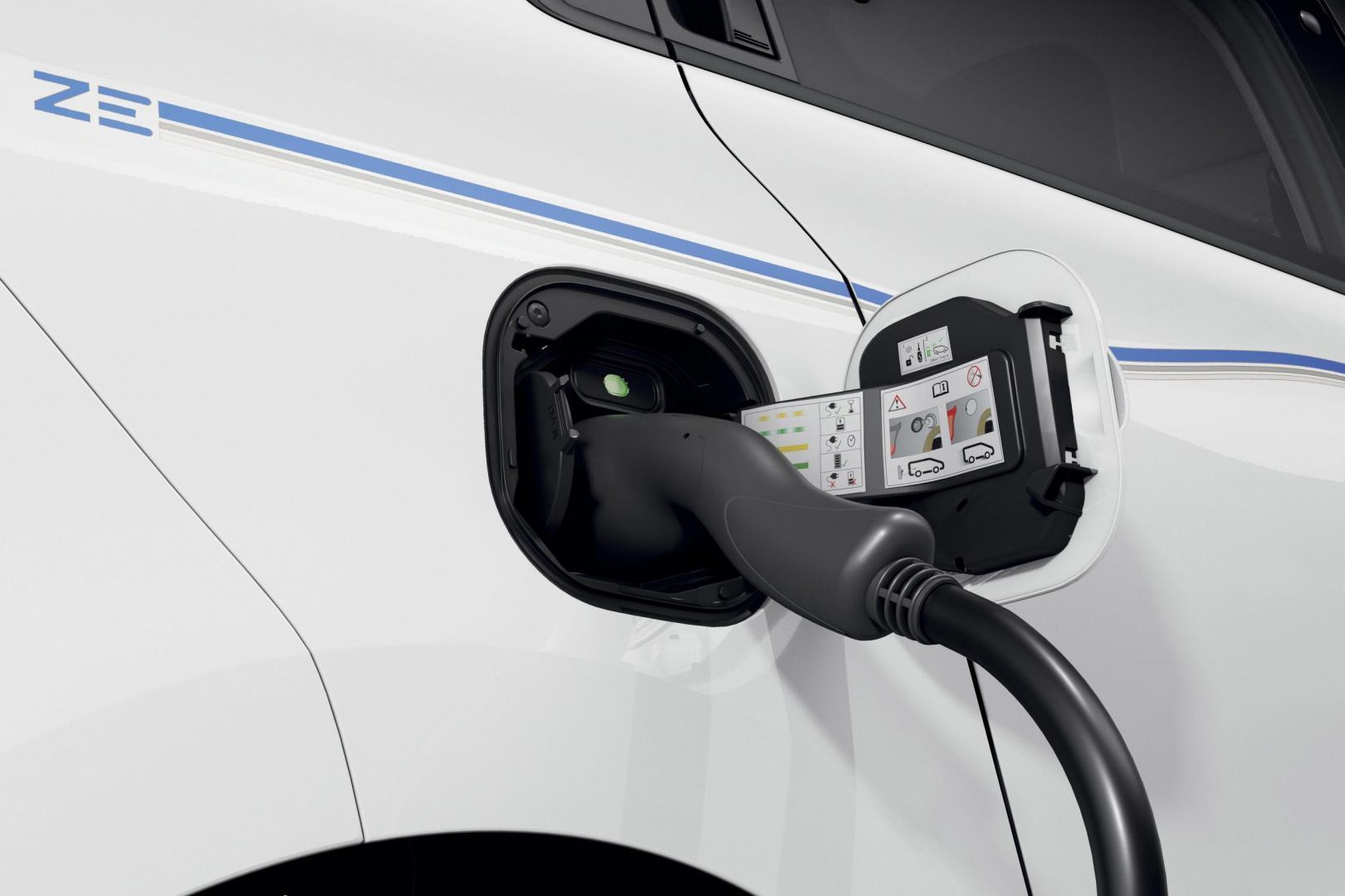 elektrische Renault Twingo ZE stekker laadpaal