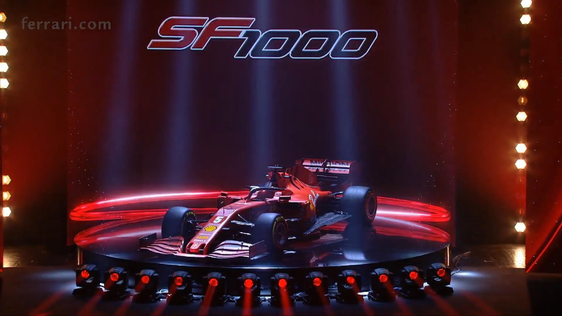 Ferrari SF1000 3 4