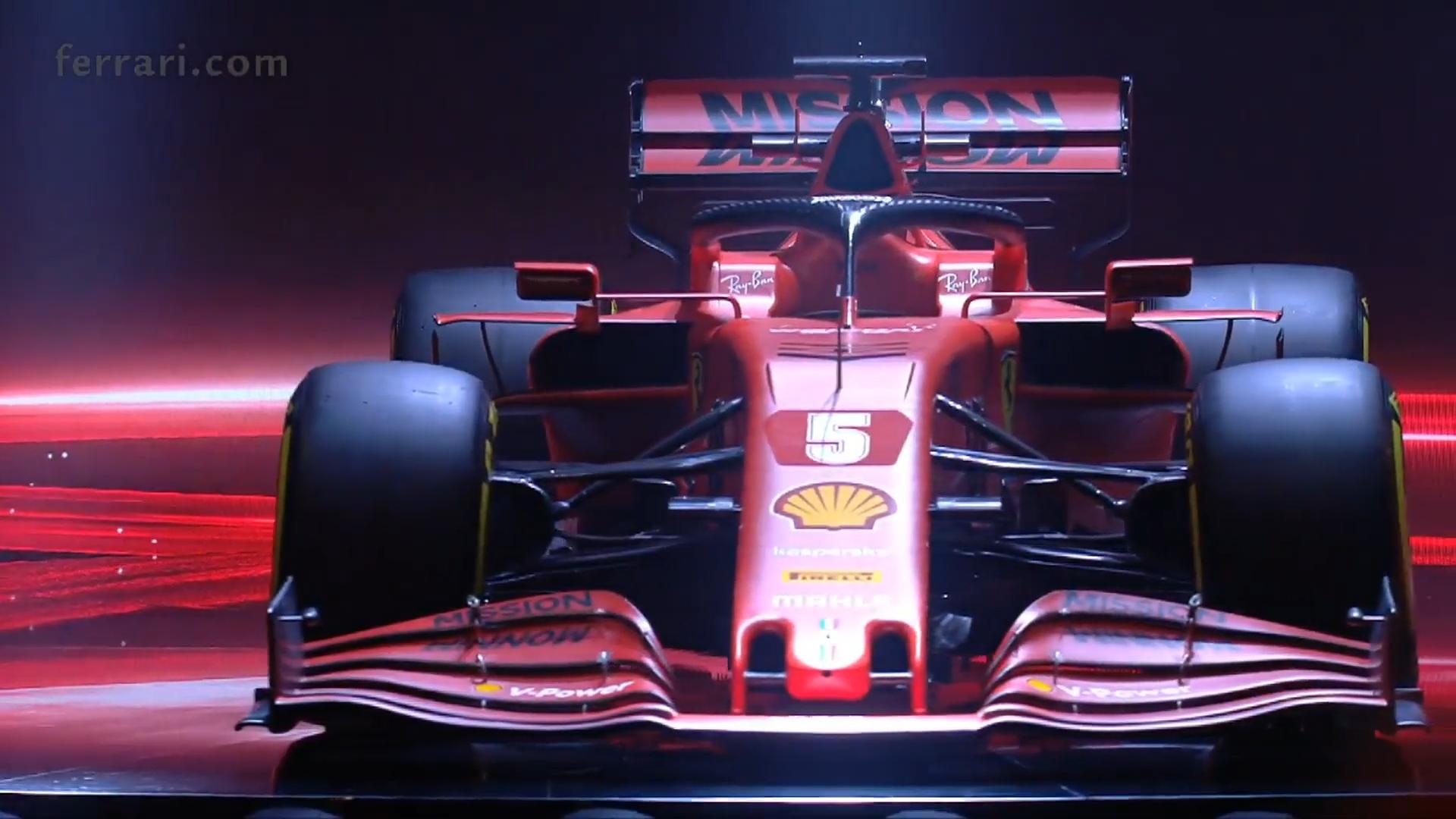 Ferrari SF1000 voor