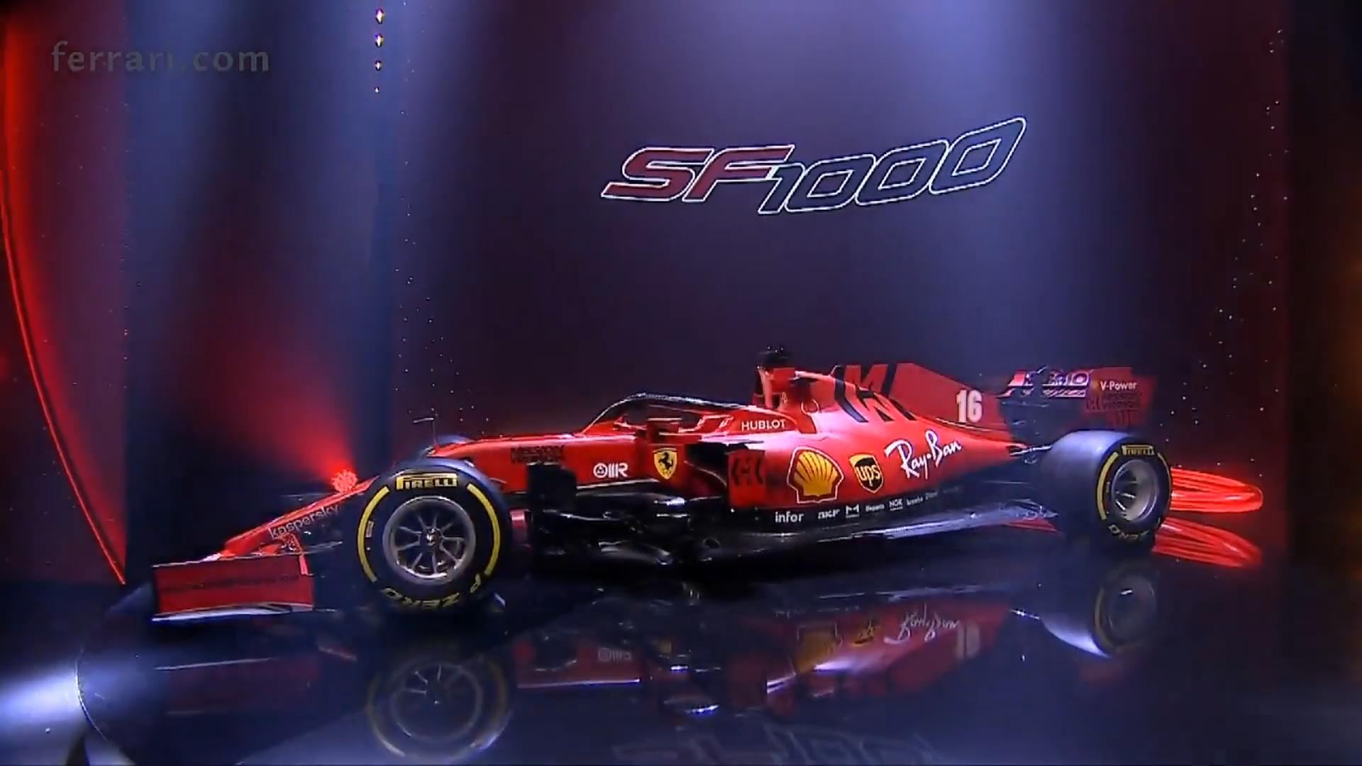 Ferrari SF1000 zij