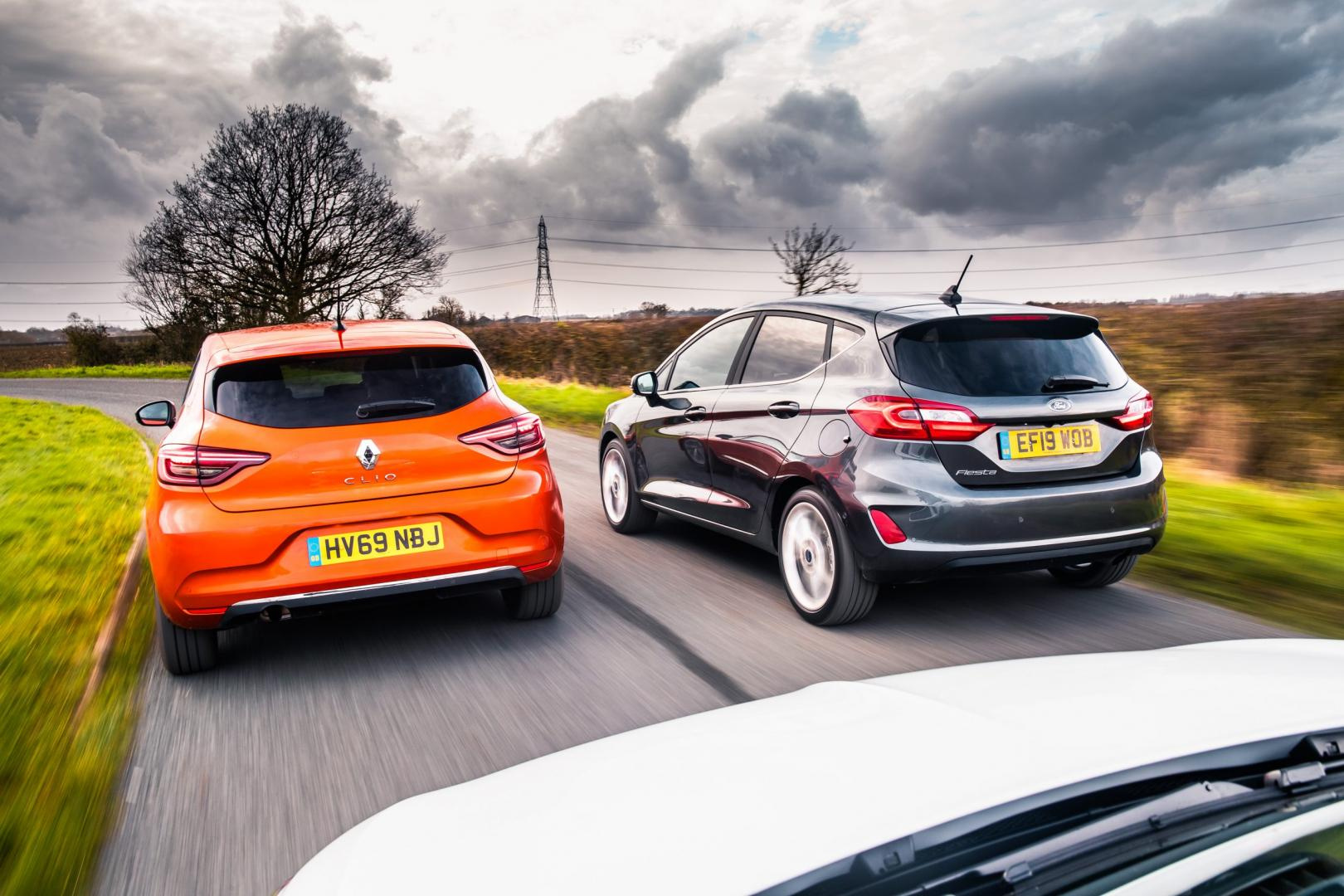 Ford Fiesta vs Renault Clio vs Opel Corsa