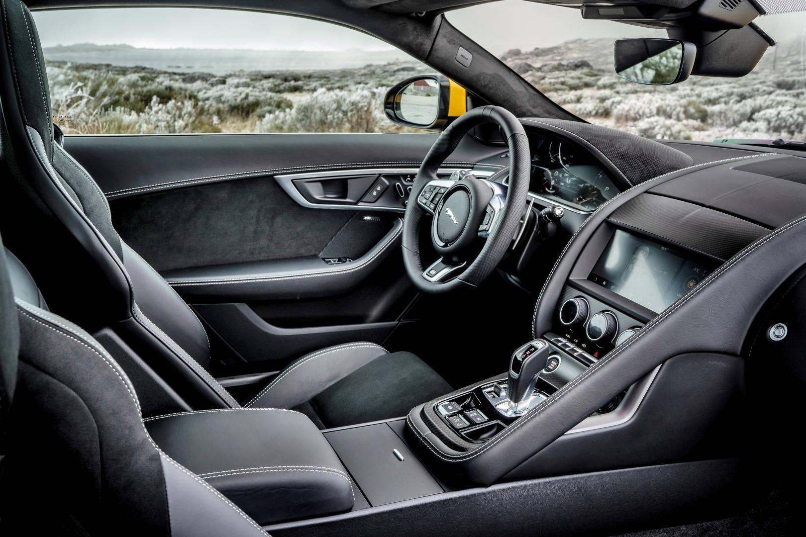 Interieur Jaguar F-Type R