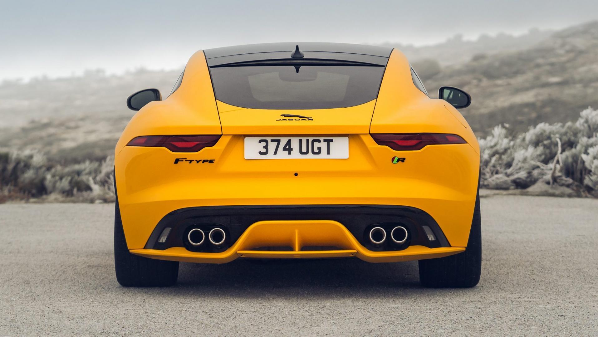 Jaguar F-Type R achterkant