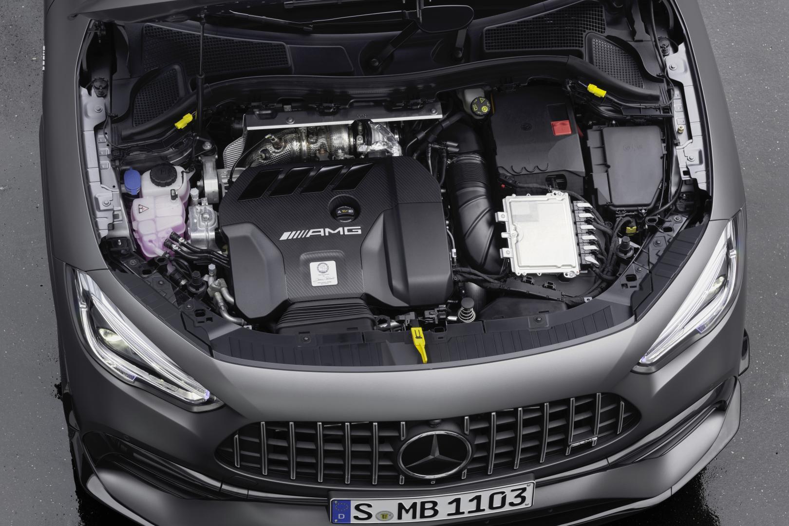 Mercedes-AMG GLA 45 S Motor