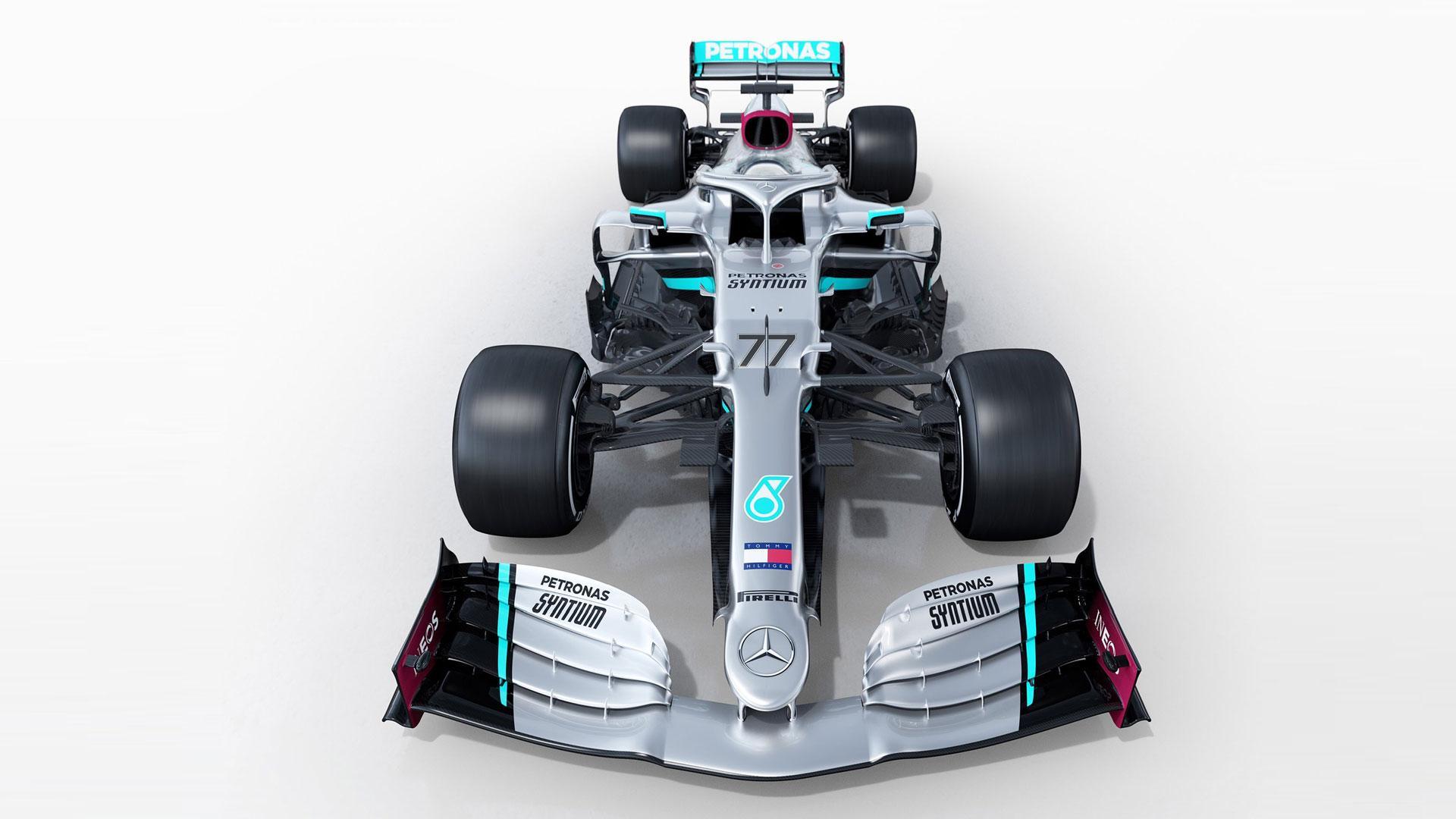 Mercedes F1-auto voor 2020