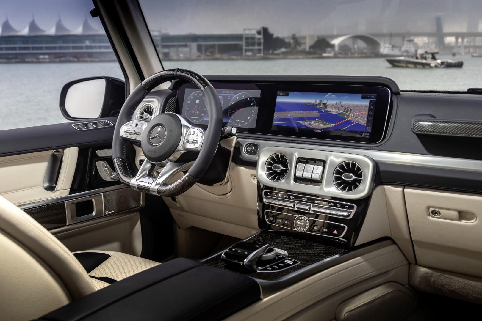 Mercedes G-Klasse Cigarette Edition interieur overzicht