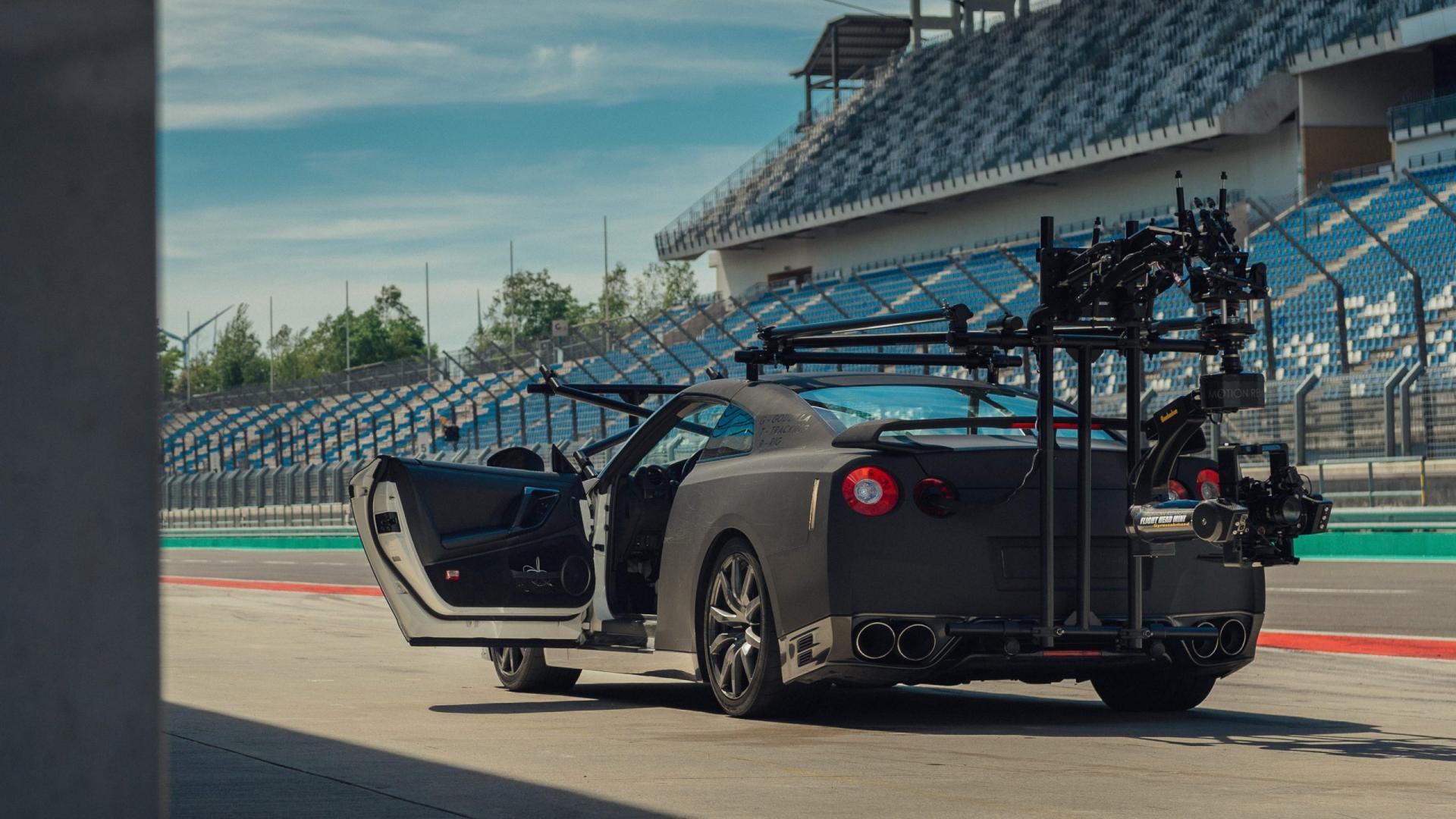 Nissan GT-R Camera-auto