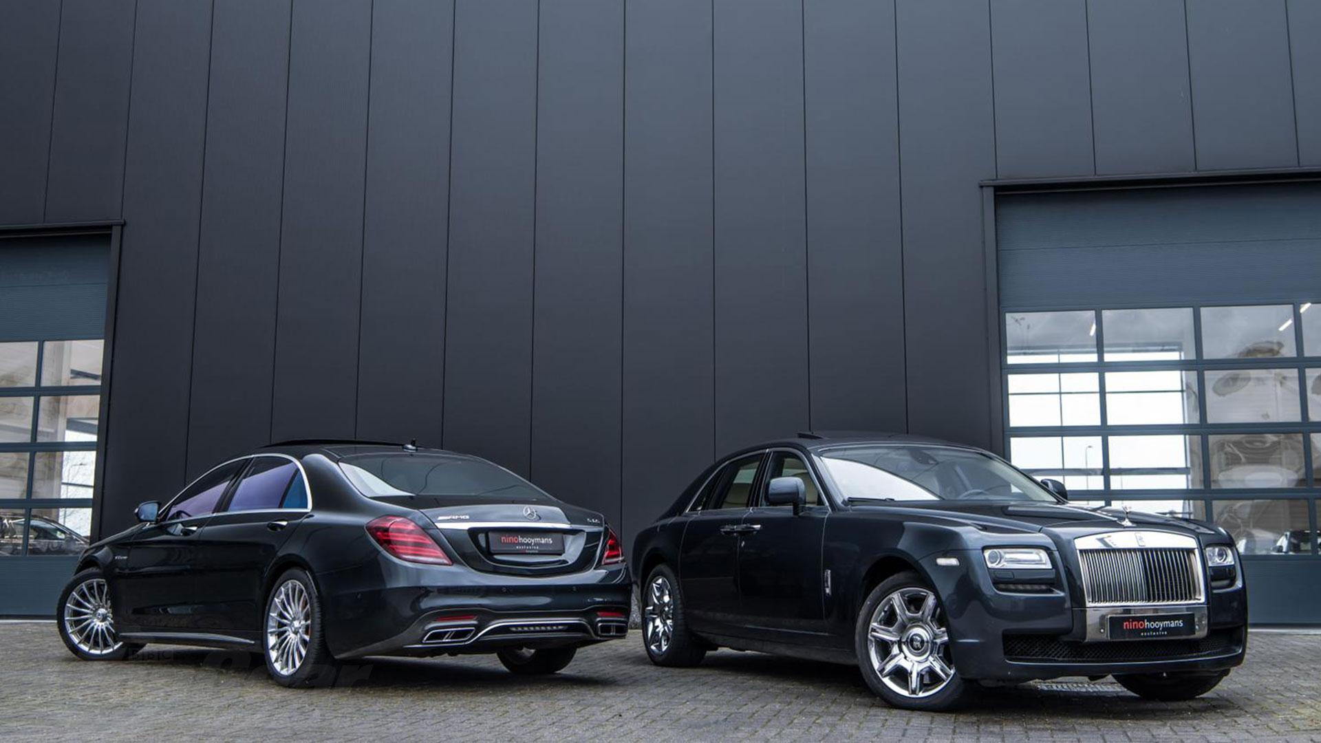 Rolls-Royce Ghost Michael van Gerwen