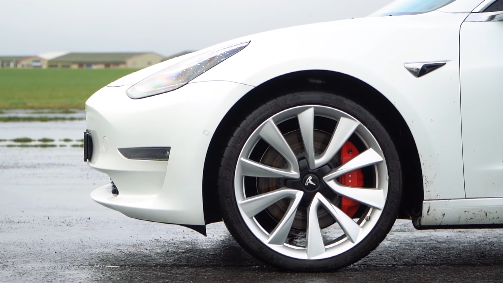 Tesla Model 3 Performance detail velg