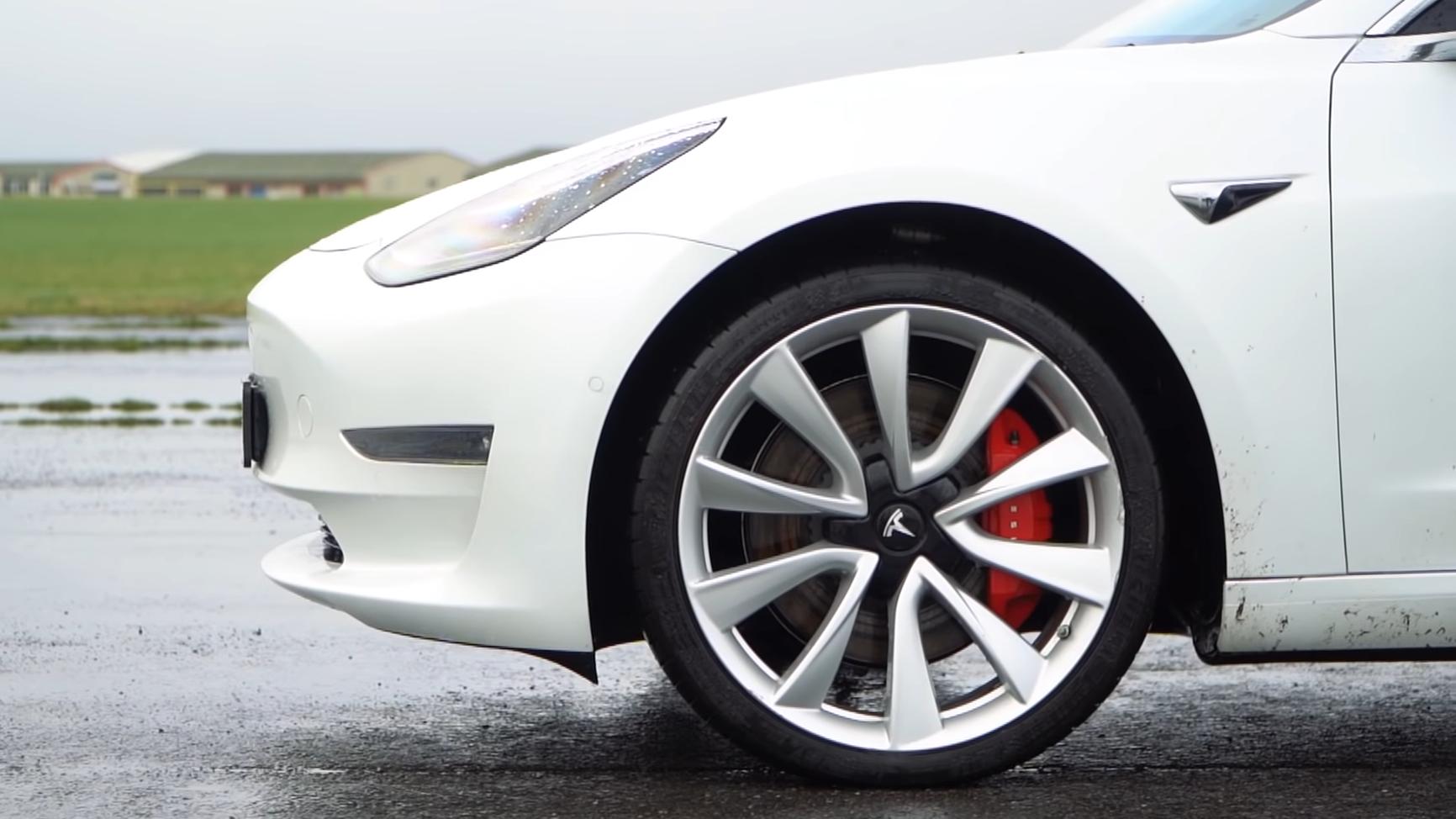 Tesla Model 3 Performance detail velg