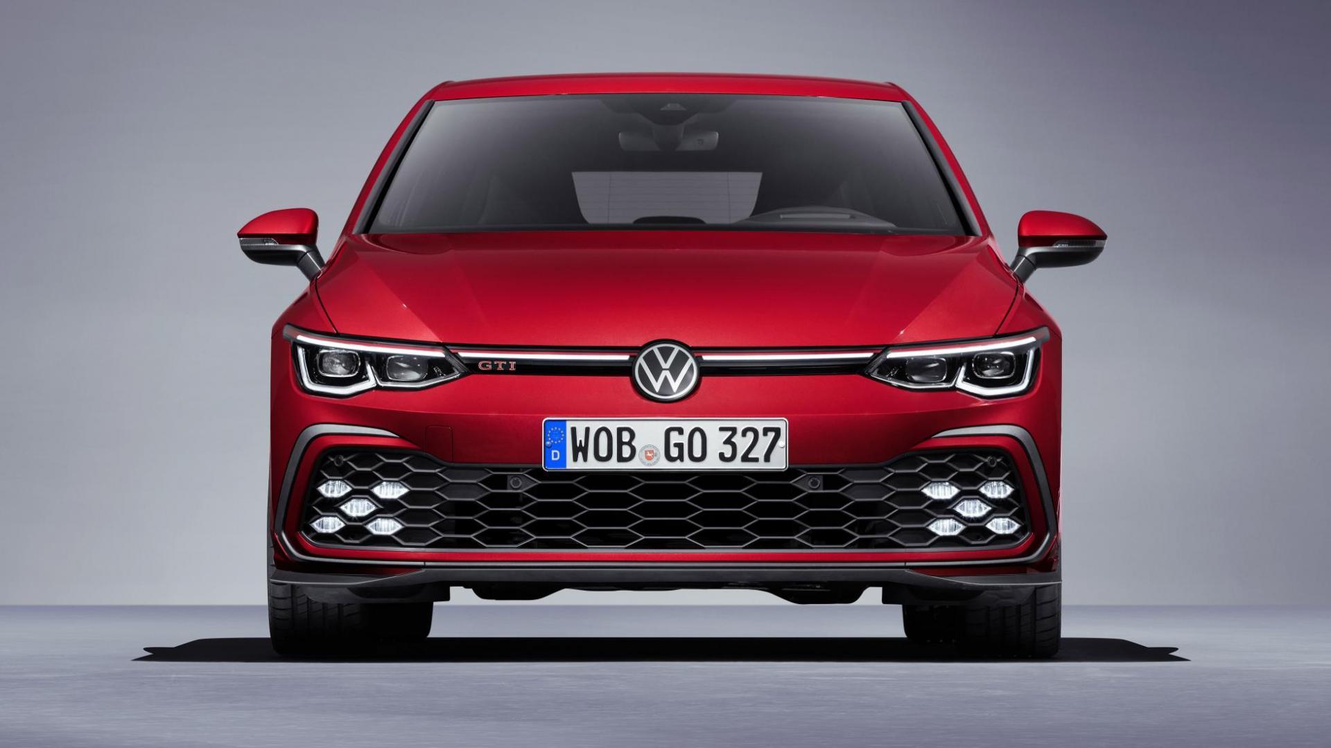 Volkswagen Golf 8 GTI 2020 voorkant