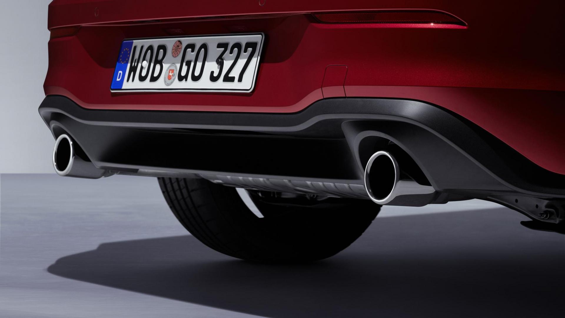 Volkswagen Golf 8 GTI 2020 uitlaat