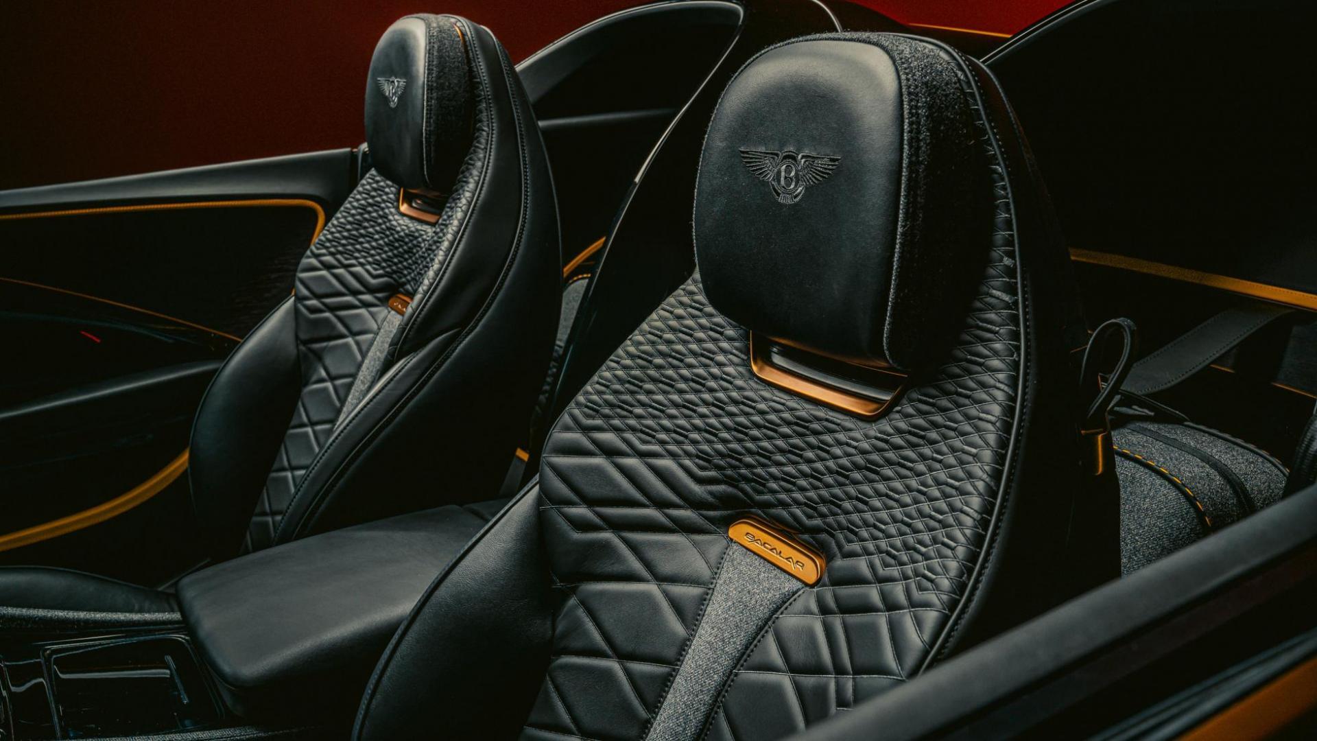 Bentley Mulliner Bacalar interieur stoelen