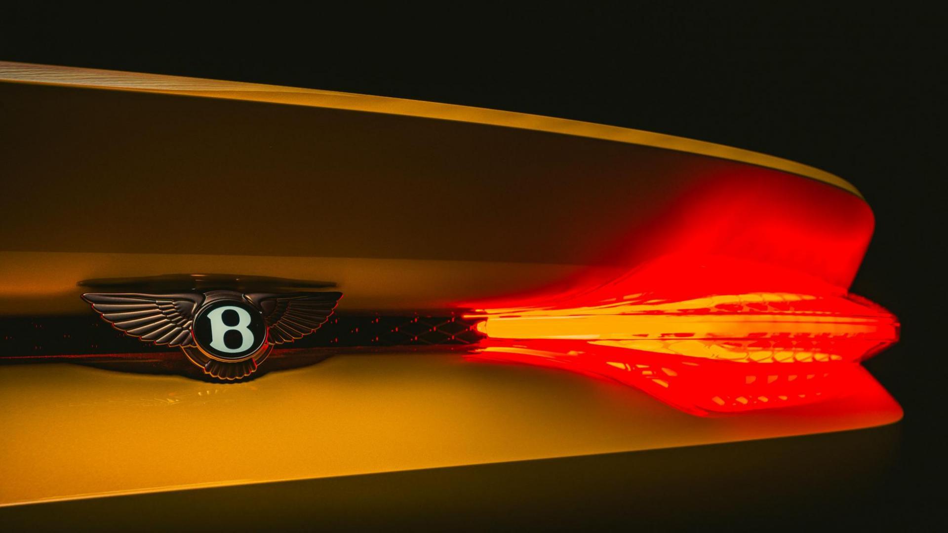 Bentley Mulliner Bacalar achterlicht led