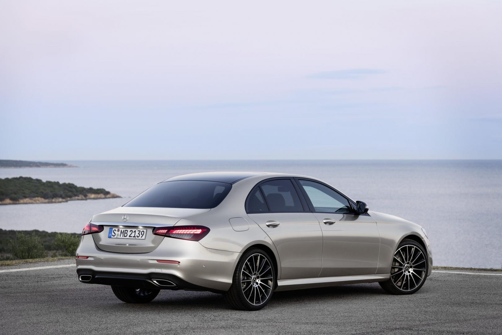 Mercedes E-klasse facelift is uitgebreid maar bescheiden ...