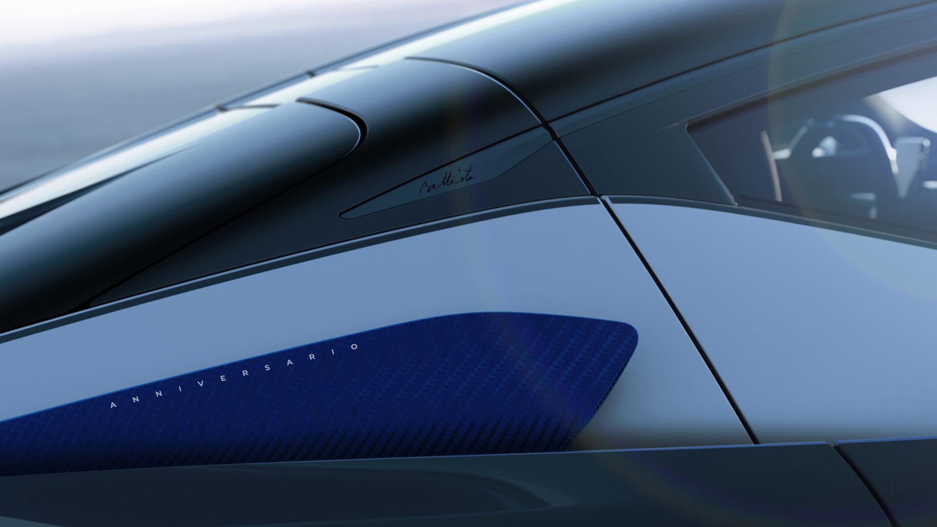 Pininfarina Battista Anniversario 2020