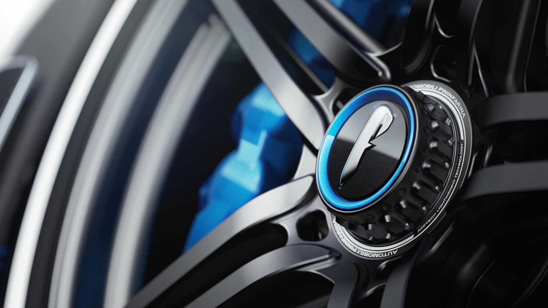 Pininfarina Battista Anniversario 2020 velg wiel naaf