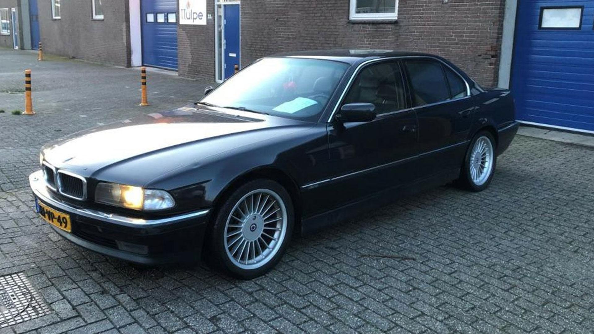 BMW 7-serie 750i goedkoopste V12 3 4 voor