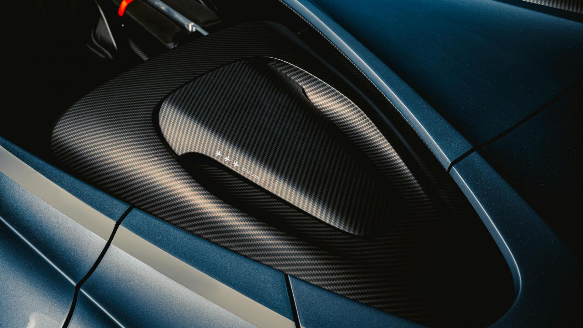 Aston Martin V12 Speedster stoelen