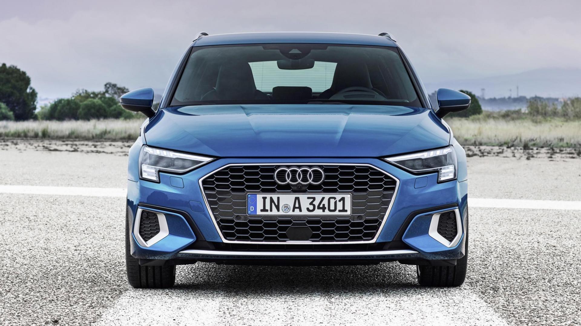 Audi A3 Sportback 2020 voorkant