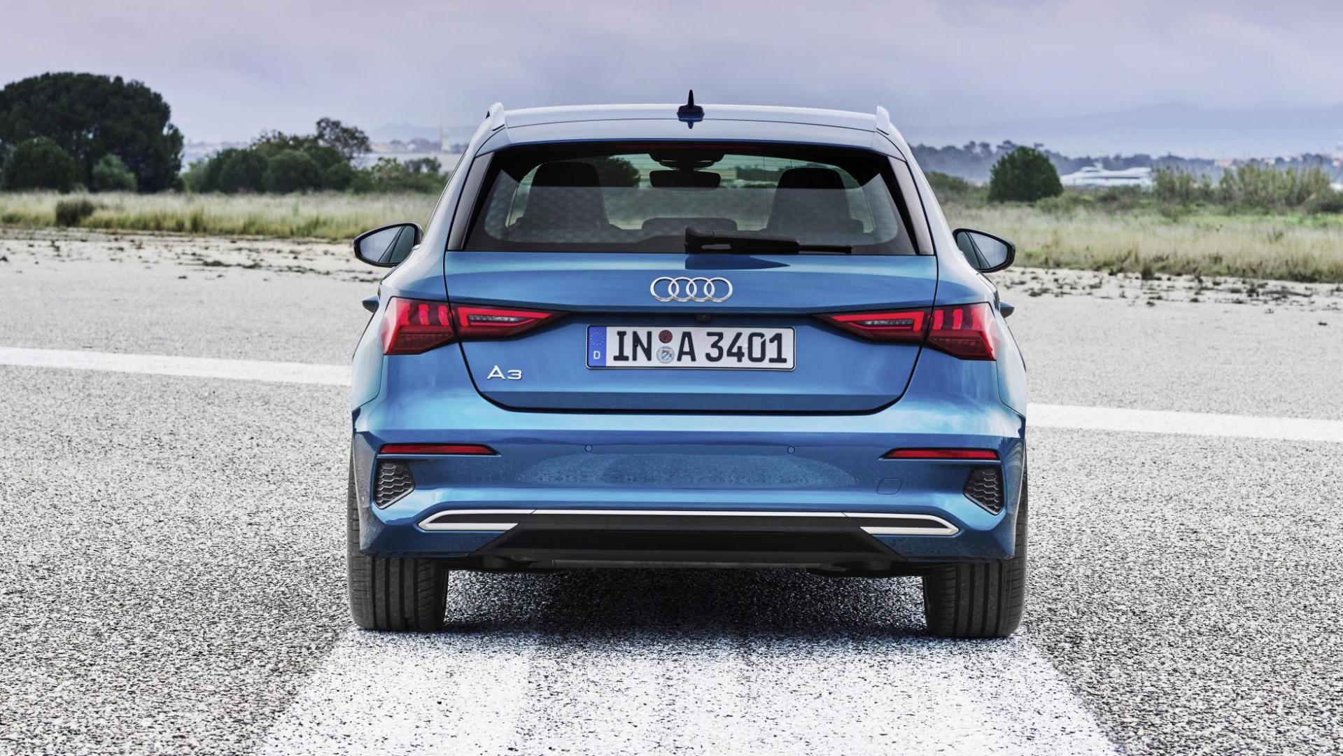Audi A3 Sportback 2020 achterkant