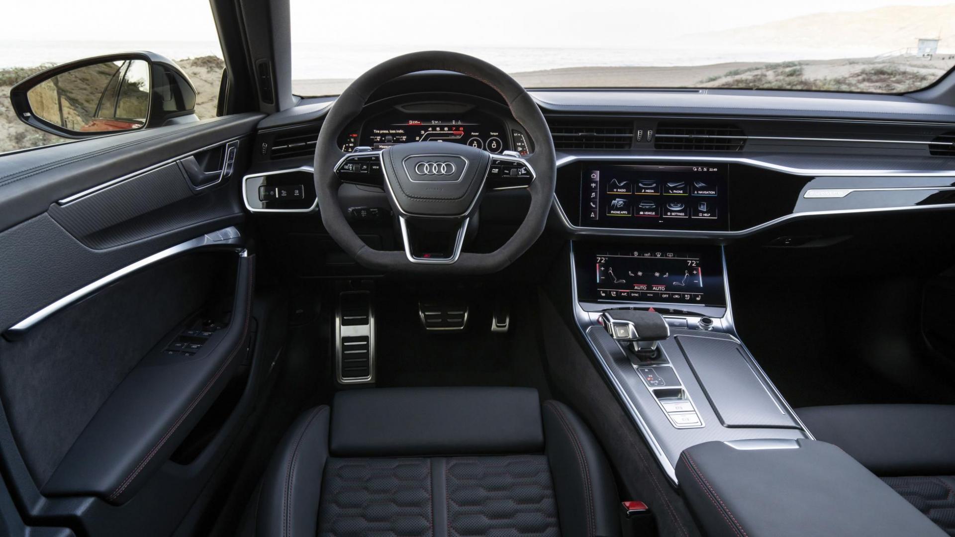 Interieur Audi RS 6 Avant C8 2020