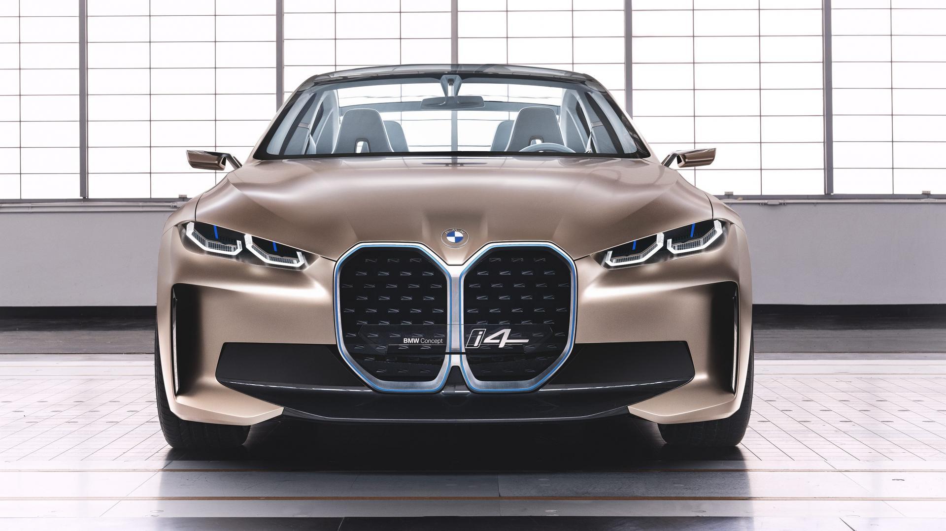 BMW i4 Concept grille nieren